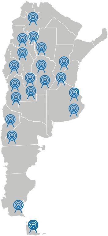 Mapa de emisoras